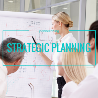 strategic planning white:aqua